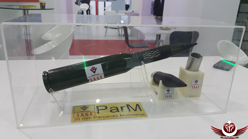 PARM 35 mm Parçacıklı Mühimmat