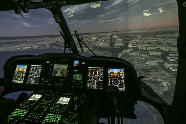 Havelsan helikopter Simulatoru