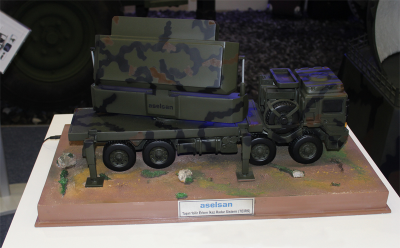 Taşınabilir Erken İhbar Radar Sistemi (TEIRS)