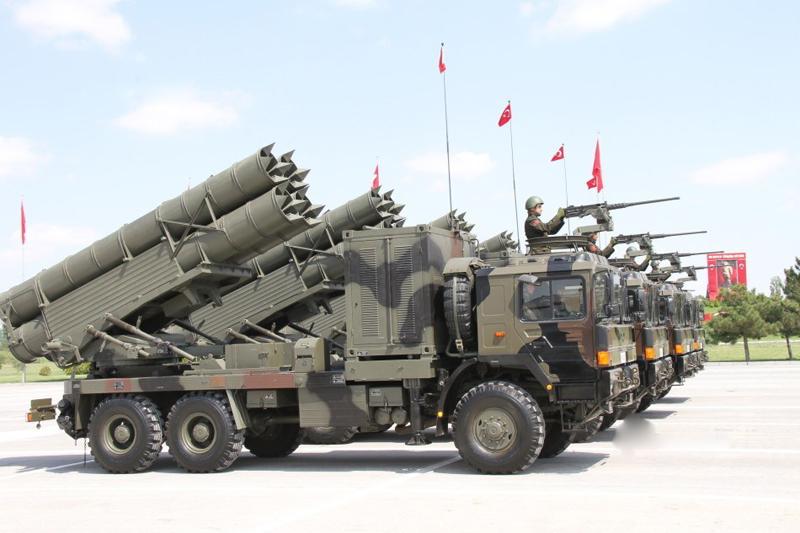 T-300 KASIRGA TOPÇU ROKETİ