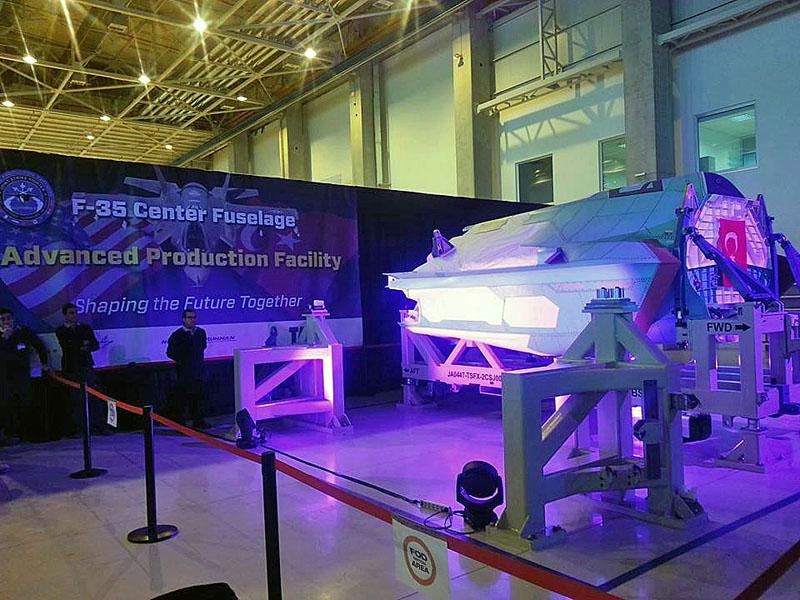TAI JSF/F-35 GÖVDE ÜRETİMİ