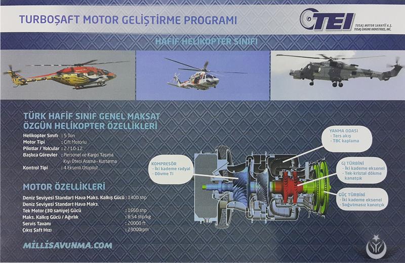 TEI TS-1400 TURBOŞAFT MOTOR
